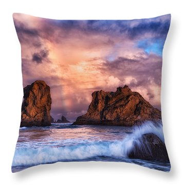 Bandon Beauty Throw Pillow by Darren  White