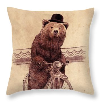 Barnabus Throw Pillow by Eric Fan