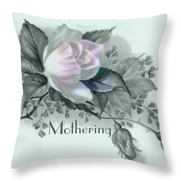 Beautiful Flowers For Mother's Day Throw Pillow by Sarah Vernon