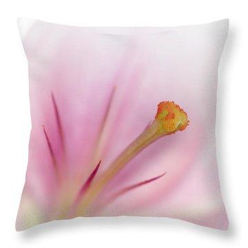 Beautiful Lily Throw Pillow by Melanie Viola