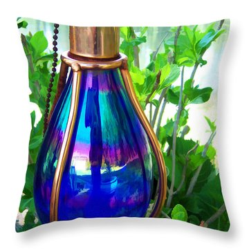 Beautiful Reflections Throw Pillow by Kathy Clark