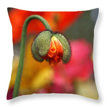Beautiful Ugly Throw Pillow by Rona Black