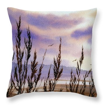 Beautiful World Throw Pillow by James Williamson