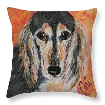 Bella Throw Pillow by Cori Solomon