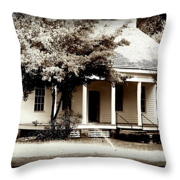 Bellavue Plantation  Throw Pillow by Debra Forand