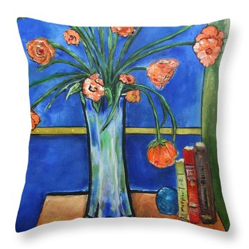 Bellini Throw Pillow by Chaline Ouellet