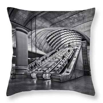 Beneath The Surface Of Reality Throw Pillow by Evelina Kremsdorf