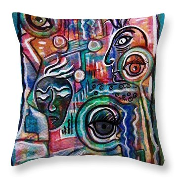 Betrayed Throw Pillow by Mimulux patricia no