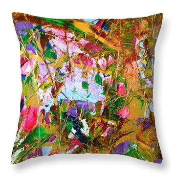 Betsey Throw Pillow by Etta Harris