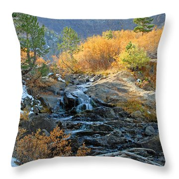 Between The Virginias Throw Pillow by Lynn Bauer