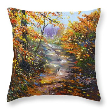 Beyond Measure Throw Pillow by Meaghan Troup