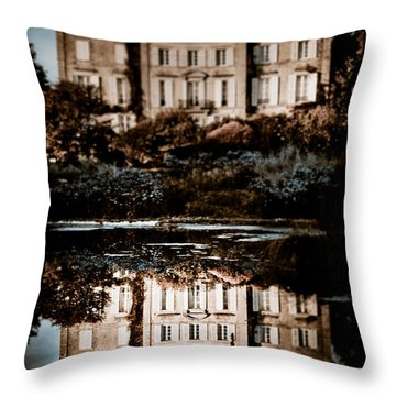 Beyond The Mirror Throw Pillow by Loriental Photography