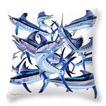 Bills Off0044 Throw Pillow by Carey Chen