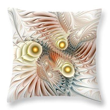 Birds Of Paradise Throw Pillow by Anastasiya Malakhova