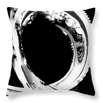 Black Magic 309 Inverted Throw Pillow by Sharon Cummings