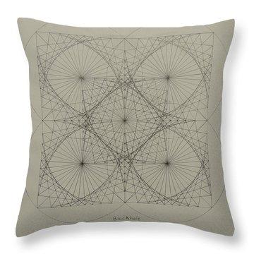Blackhole Throw Pillow by Jason Padgett