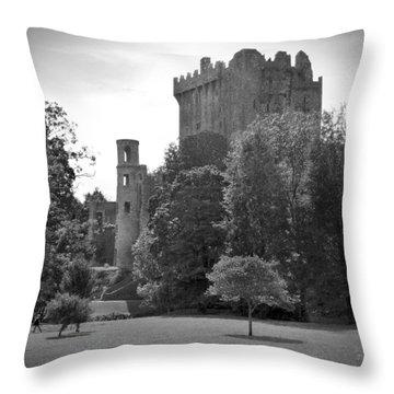 Blarney Castle Throw Pillow by Mike McGlothlen