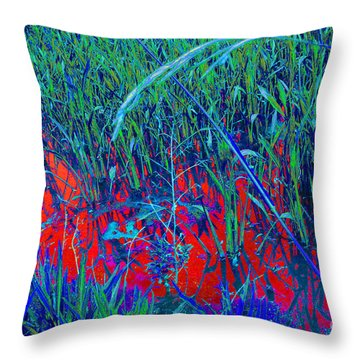 Bloody Battle Of New Orleans 1 Throw Pillow by Alys Caviness-Gober