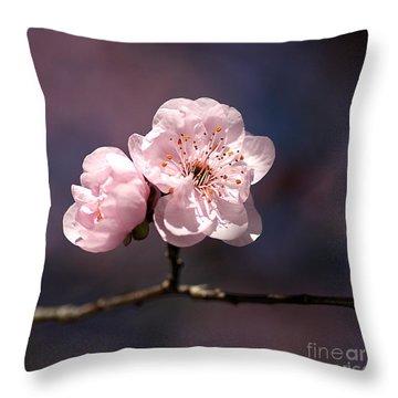 Blossom Throw Pillow by Joy Watson