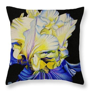 Blue Magic Throw Pillow by Bruce Bley