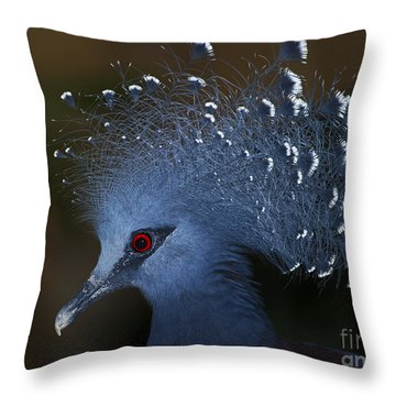 Blutiful.. Throw Pillow by Nina Stavlund