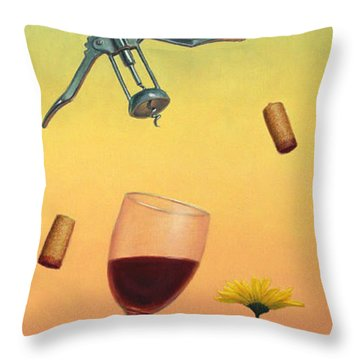 Body And Soul Throw Pillow by James W Johnson