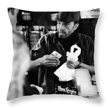 Borough Market Throw Pillow by Erik Brede