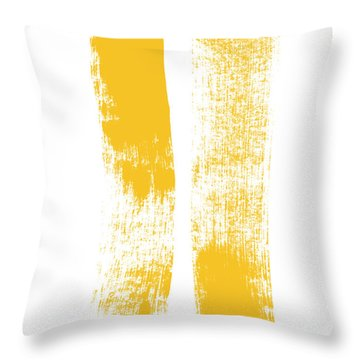 Both Sides Now Throw Pillow by Linda Woods