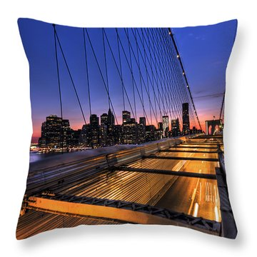 Bound For Greatness Throw Pillow by Evelina Kremsdorf