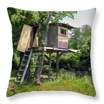 Boys Dream Throw Pillow by Brian Wallace
