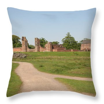 Bradgate Park House Throw Pillow by Mark Severn