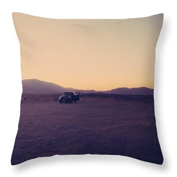 Breakdown Throw Pillow by Laurie Search
