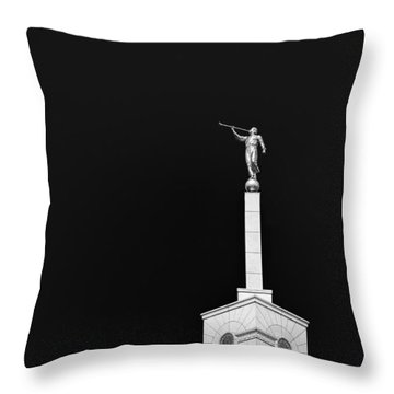 Breaking Into The Dark Throw Pillow by Tony Maduro