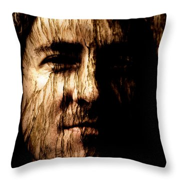 Breaking Point Throw Pillow by Christopher Gaston