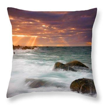 Breathtaking Throw Pillow by Mike  Dawson