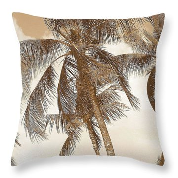 Breeze Throw Pillow by Athala Carole Bruckner