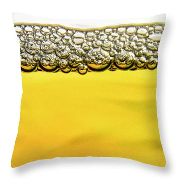 Brewed Throw Pillow by Stelios Kleanthous