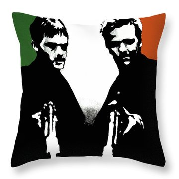 Brothers Killers And Saints Throw Pillow by Dale Loos Jr