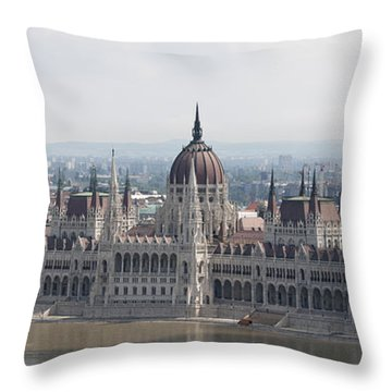 Budapest Throw Pillow by Gary Grayson