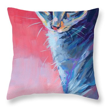 Bug Throw Pillow by Kimberly Santini