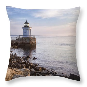 Bug Light Throw Pillow by Eric Gendron