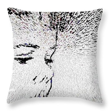 Bullied Where To Go Throw Pillow by Sir Josef - Social Critic - ART