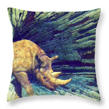 Burst  Throw Pillow by Jack Zulli