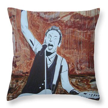 Bust This City In Half Throw Pillow by Stuart Engel