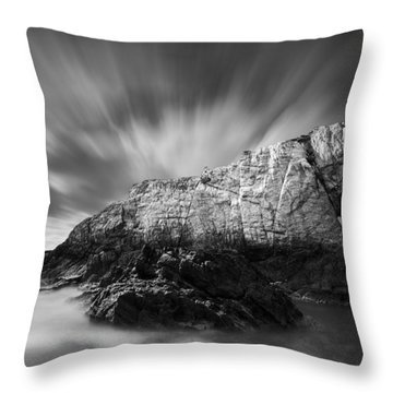 Bwa Gwyn Throw Pillow by Dave Bowman