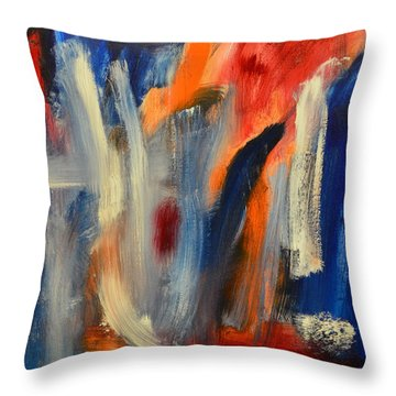 by 4 year old Sydney Marlow Throw Pillow by Sydney Marlow