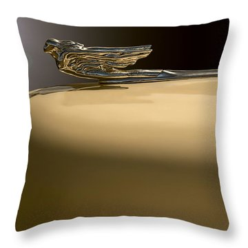 Cadillac Flare Throw Pillow by Kurt Golgart
