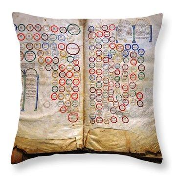 Calahorra Bible Throw Pillow by RicardMN Photography