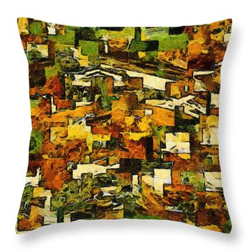 California Throw Pillow by RC deWinter
