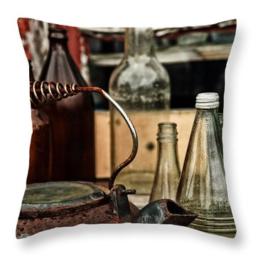 Calling The Kettle Throw Pillow by Karol Livote